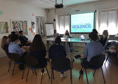 14/04/2017 a Belluno – Incontro con un gruppo scout di Piove di Sacco